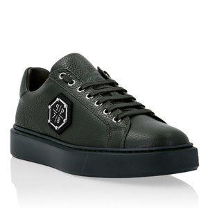 Philipp Plein Men's PP1978 Lo-Top Sneakers Green